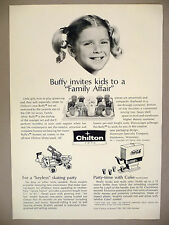 Chilton Toys 2-Page  PRINT AD - 1971 ~ Coke Machine, toy ~ Buffy, Family Affair