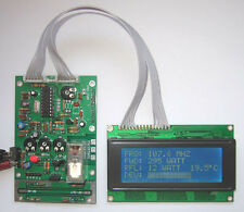 Frequency Meter 20-1300 MHZ, Forward Reflected Power Temperature Audio Meter SWR
