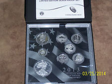 2013 United States Mint Limited Edition Silver Proof Set (LS2) MINT SOLD OUT