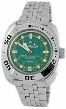 Vostok Amphibia 710439 Watch Russian Military Auto Scuba Divers Green