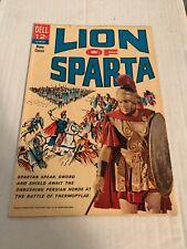 VINTAGE 1962 Dell Comics LION OF SPARTA Movie Tie In Comic Book