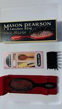 Mason Pearson Handy Bristle & Nylon Brush BN3 Dark Ruby