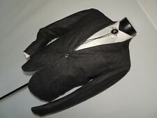 Armani Exchange AX Men's MOD Gray cotton & linen jacket coat 40 R