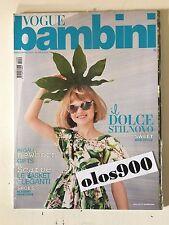 VOGUE BAMBINI Mar/April 2014 International Children's Fashion Italy NEW & SEALED
