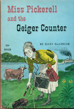 MISS PICKERELL AND THE GEIGER COUNTER by Ellen MacGregor (1964) Scholastic pb