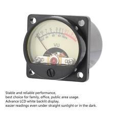 High Audio Panel Vu Meter Power Amplifier Db Sound Level Meter Header