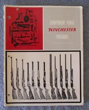 Component Parts Winchester Firearms Price List Effective Jan. 4, 1965 Catalog