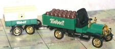 Riebeck,Dürrkopp >1909< Truck w. trailer ,Diecast/Plastic,Loose,S. 1:87