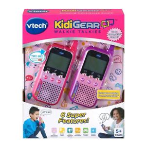 VTech Kidigear Walkie Talkies Pink NEW