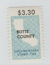 Usa State fiscal Revenue stamp 1-11 California Two Scans - 2 stamps