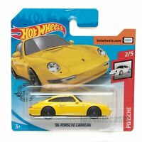 Hot Wheels - Yellow '96 Porsche Carrera - Tracked P&P