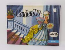 CINDERELLA Vintage Kubasta Pop-Up book HB 1974 Moveable VGC