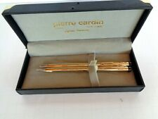 PIERRE CARDIN Gold Colored Pen & Pencil Set NIB