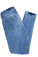 DL1961 Womens Mid Rise Skinny Jeans Light Blue Zipper Fly Closure Size 26