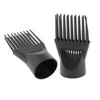 2pc Professional Hairdressing Salon Hair Dryer Diffuser Wind Blow Cover Comb
