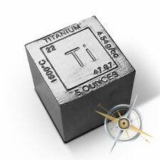 Elemental 5 oz .999 Titanium Cube Ti Element