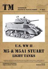 Tankograd 6013 .S. WWII M5 & M5A1 Stuart Light Tanks