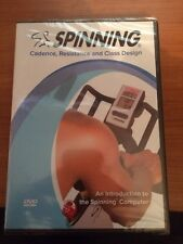 Spinning: Cadence, Resistance and Class Design (DVD) BRAND NEW...pm21