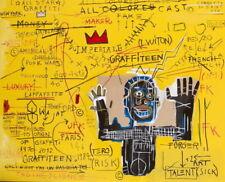 "Jean Michel Basquiat Untitled   Giclee Canvas   Canvas   24""x18"""