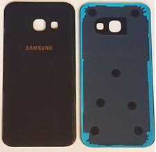 Samsung A5 2017 SM-A520F Akkudeckel Backcover  Rückseite aus Glas Schwarz