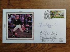 More details for nelson mandela - signed - envelope / cover - autographed 1998