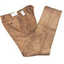 Peter Millar Nanoluxe Corduroy Flat Front Pants Mens 34x36 NWT