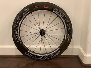 Zipp 808 Rear Wheel Firecrest Carbon Clincher Shimano 700c