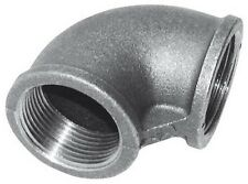 """Georg Fischer 2"""" Galvanised Equal Female BSP 90° Elbow Pipe Fitting #8L515"""