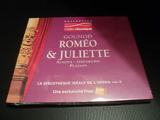 "CD DIGIPACK NEUF ""ROMEO & JULIETTE - GOUNOD"" Collection Radio Classique Vol. 9"
