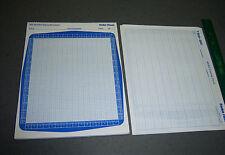Vintage Radio Shack TRS-80 Video display worksheet / coding form lot of 5 sheets