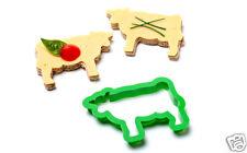 PARTY ANIMALS Cow Sandwich Cutter Kitchen Home Funky Design Gift Peleg Design
