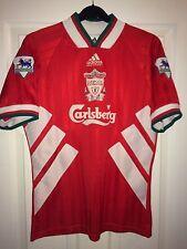 1993/95 Liverpool Home REDKNAPP #15 Football Shirt