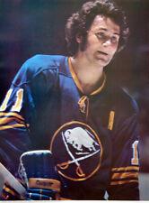 Vintage Original GILBERT PERREAULT 1973 Buffalo Sabres NHL POSTER
