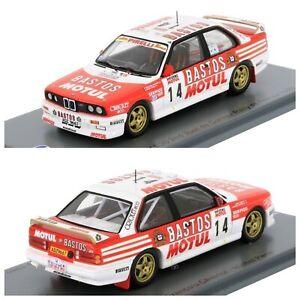 1/43 Spark BMW M3 E30 N°14 Tour Corse 1989 Francois Chatriot Livraison Domicile