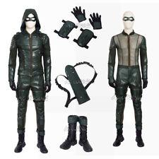 Green Arrow Season 5 Oliver Queen Cosplay Costume Halloween Green Arrow Outfit