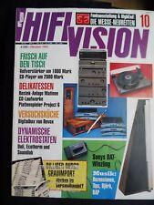 HIFI VISION 10/93,KLIPSCHHORN,EUMIG FL 10000 P,REVOX SCALA,PRO JECT 6,DALI 1000