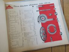 CATALOGUE CYCLES 1939 MOYEUX REYNAUD HOLDER VELO TANDEM TRIPORTEUR VELOMOTEUR