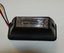 850 Red LED Emergency Strobe Construction Lightbar flashing R/R