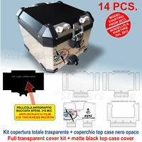 Kit COMPLETO adesivi top-case bauletto BMW R1200 GS ADV BUSSOLA bags stickers