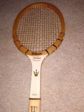 Vintage Wilson The Jack Kramer Autograph Tennis Racquet Size 4 5/8 Grip