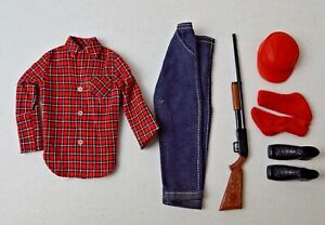 """VINTAGE BARBIE KEN OUTFIT """"GOING HUNTING"""" #1409 LOT BC"""