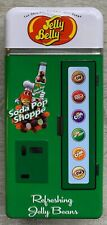 "Jelly Belly ""Soda Pop Shoppe"" 2009 Embossed Collectible Bank Vending Machine Tin"