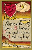 VALENTINE'S DAY – Friendship's Greeting I Still Am Thine - 1919