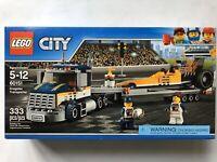 LEGO City Dragster Transporter 60151 - Brand New Sealed