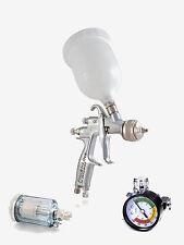 DEVILBISS Lackierpistolen FLG G5 1.4 + Luftfilter (59404) + Manometer (601)