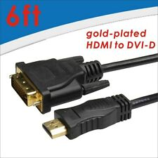 New DVI to HDMI adapter Gold-Plated Converter For LCD HDTV 24+1pin High Speed