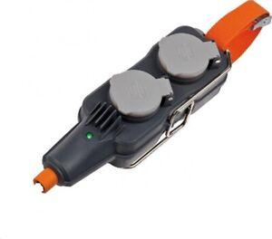 Brennenstuhl Professional Line Powerblock IP54 4-fach Multiple Plug