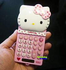 Super Cute Hello Kitty Pocket Office Desk Basic Electronic Digitals Calculator