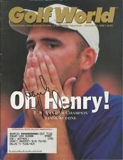 Hank Kuehne Signed 1998 Golf World Full Magazine