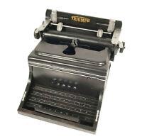 "Triumph German Typewriter 1945 Machine Metal Model 8.5"" Home Office Decor New"